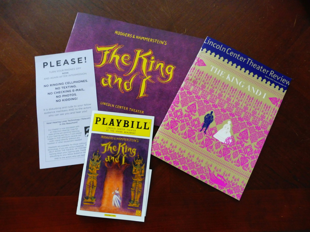 The King and I merchandise