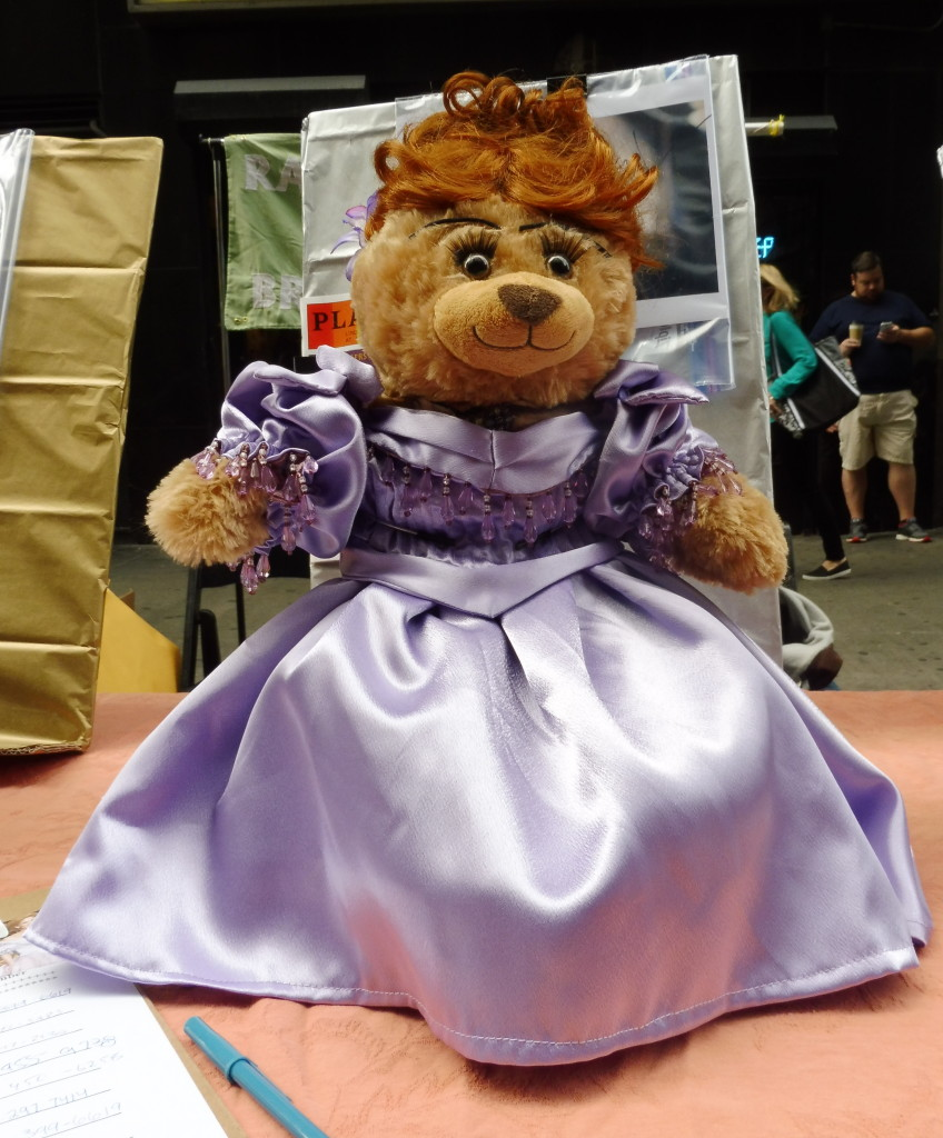 A doll of Anna, at the 2015 Broadway Flea Market