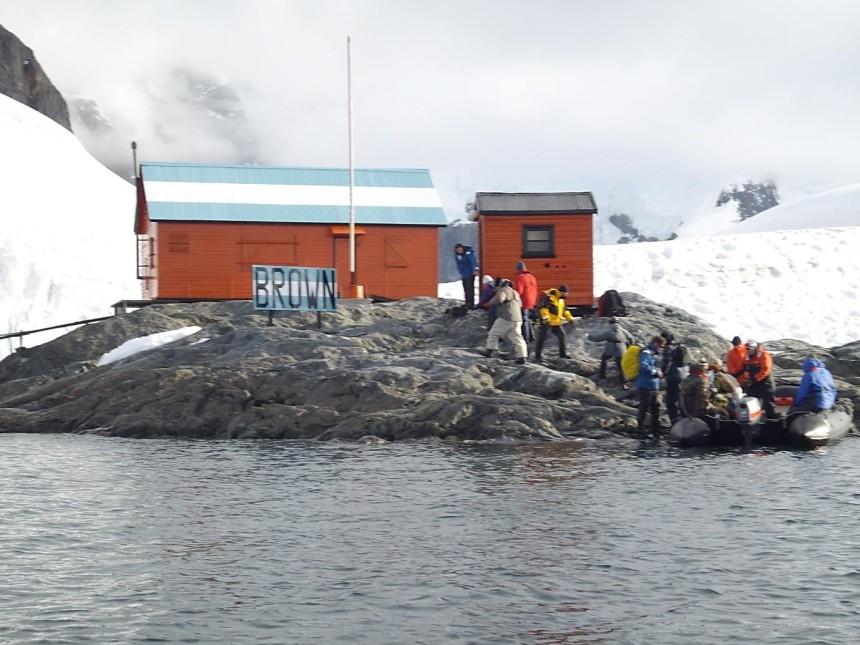 antarctica paradise harbor landing