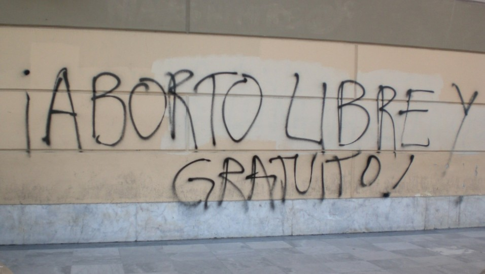 argentina buenos aires cathedral graffiti 4