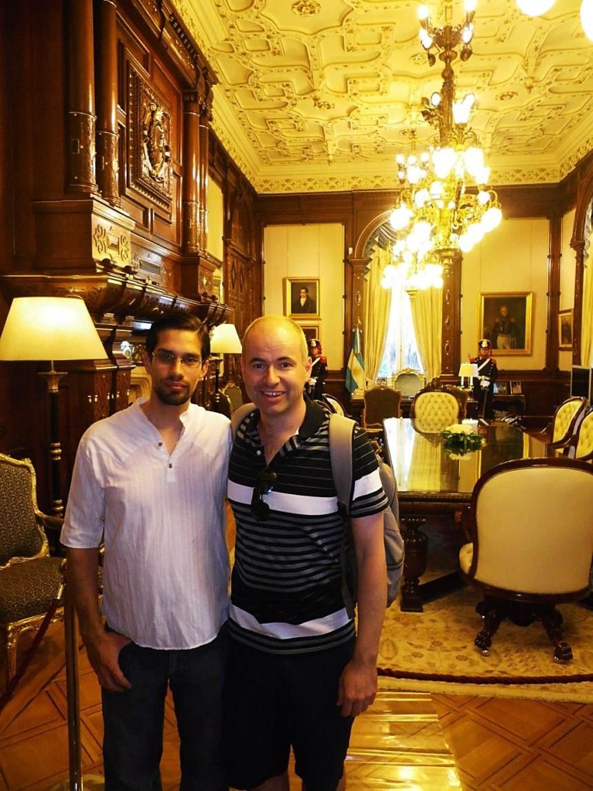 argentina casa rosada presidential office