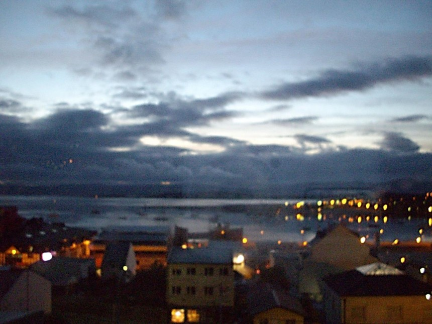 argentina ushuaia beagle channel dawn