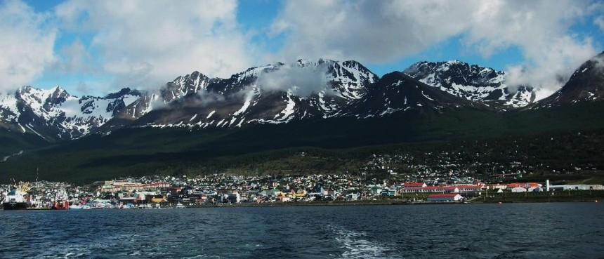 argentina ushuaia from beagle channel
