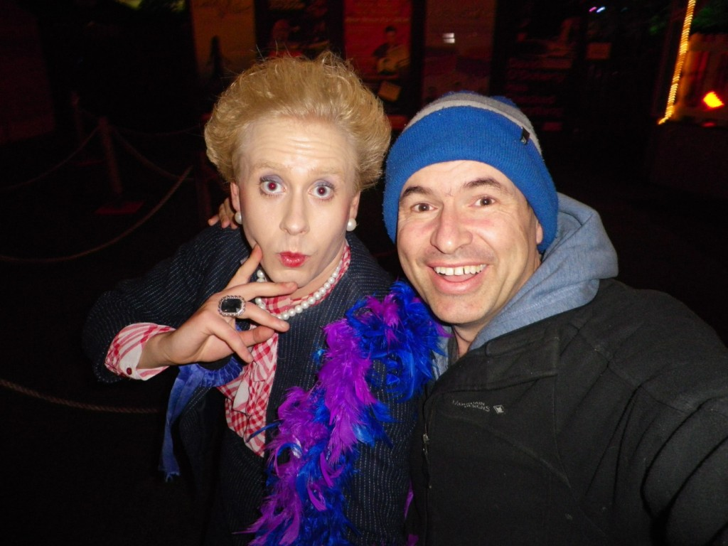 edinburgh margaret thatcher and me live