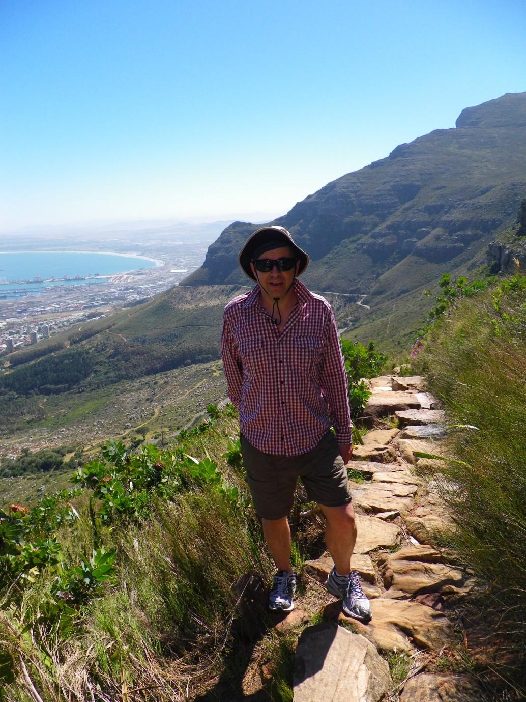 south africa climbing table mountain 2