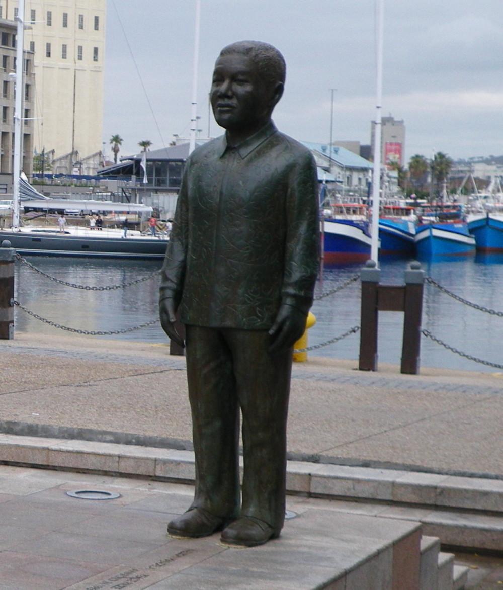 south africa nelson mandela statue