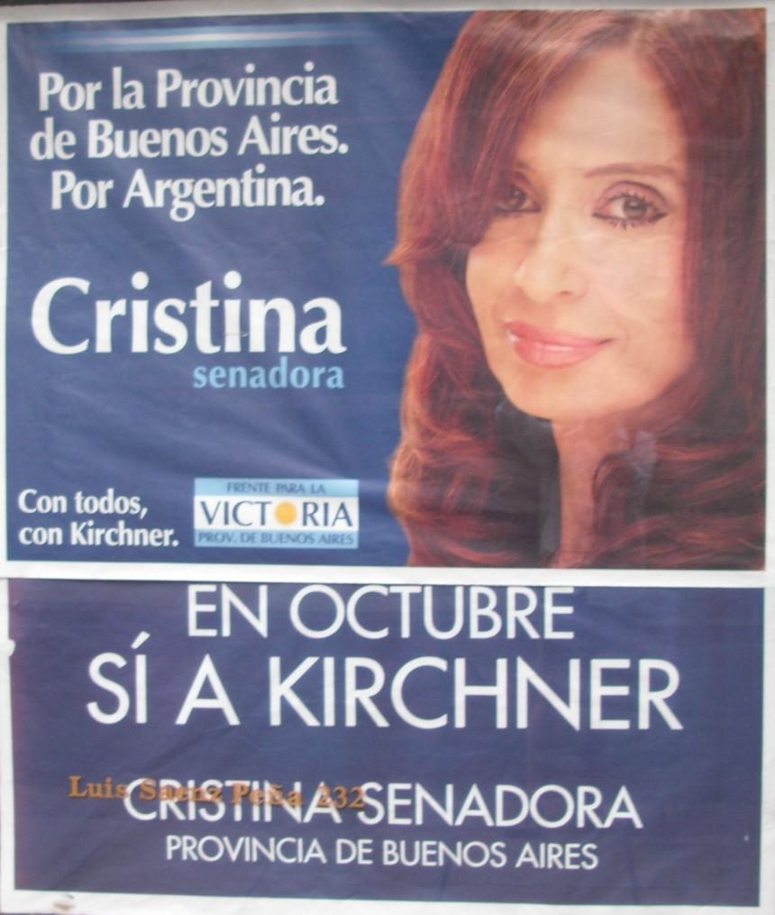 Cristina senadora