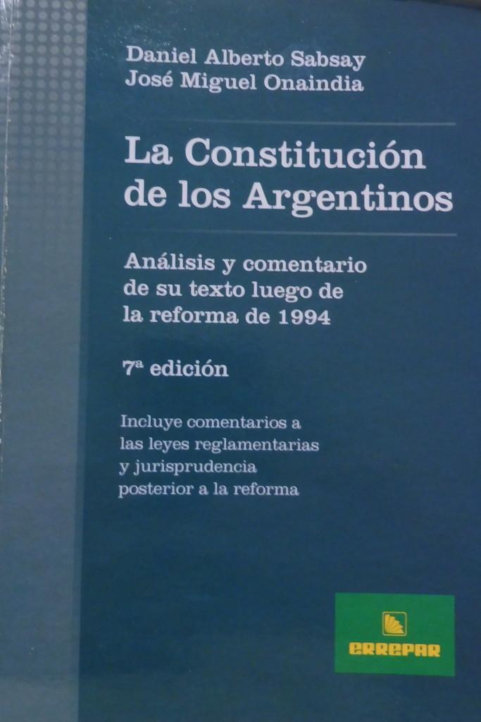 Constitucion de los argentinos