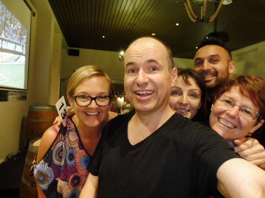Karin, Nadine, Anna-Marie, Chris and me