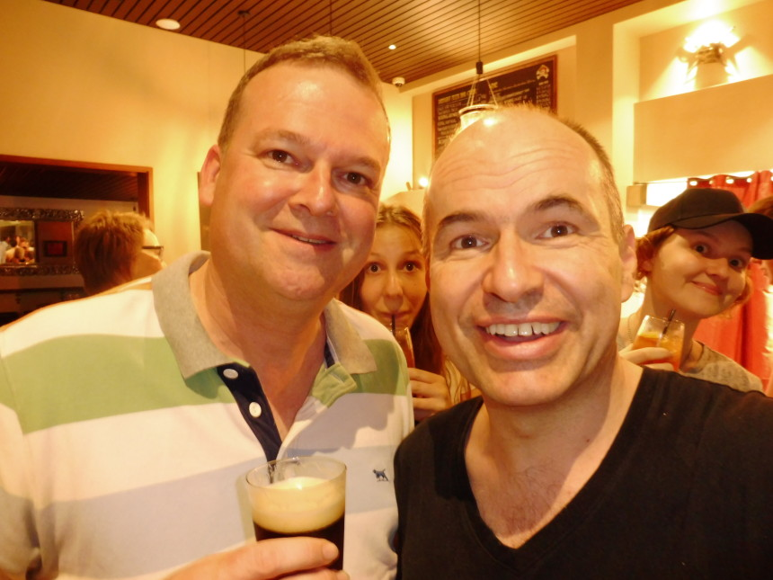 Doug and me
