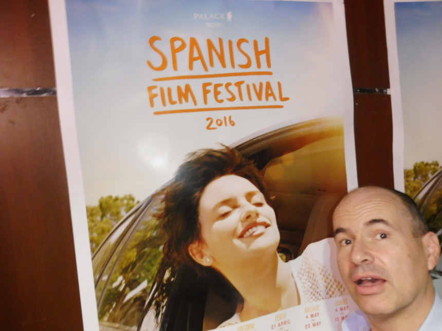 Spanish Film Festival me and poster