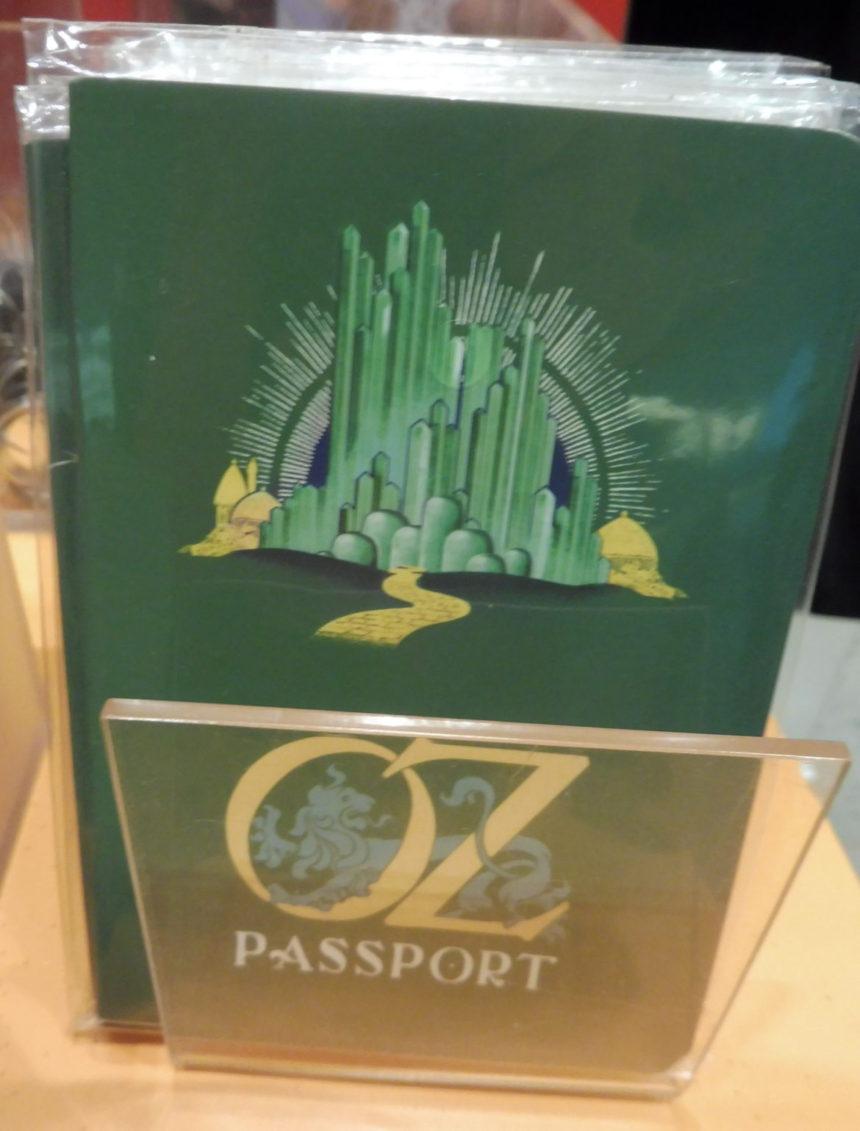 USA - The Wizard of Oz - Oz passport