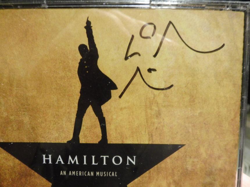 USA Hamilton LMM autograph