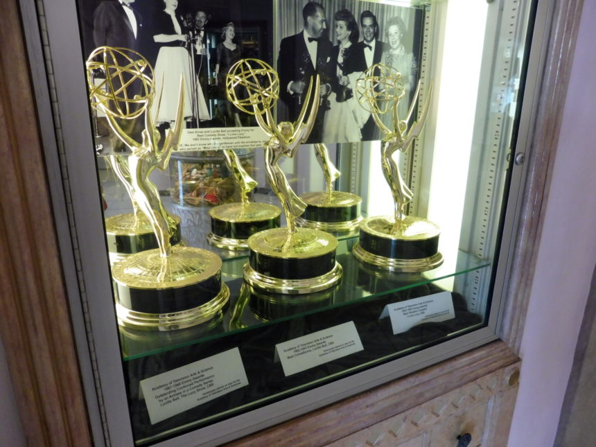 USA Hollywood Museum - Lucy's emmys
