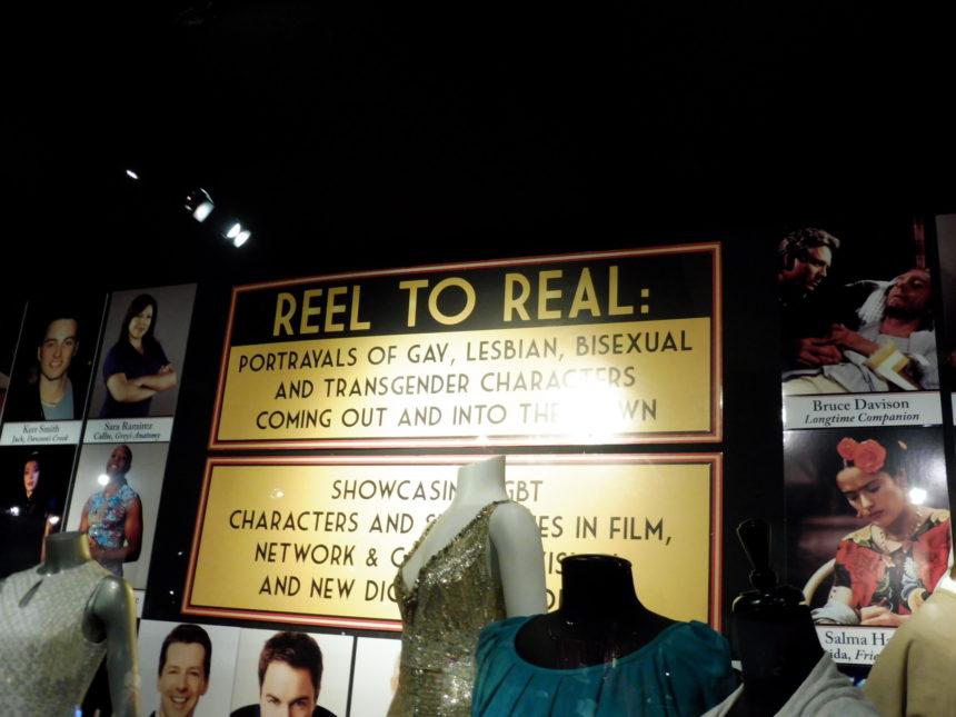 USA Hollywood Museum - GLBTI characters - heading
