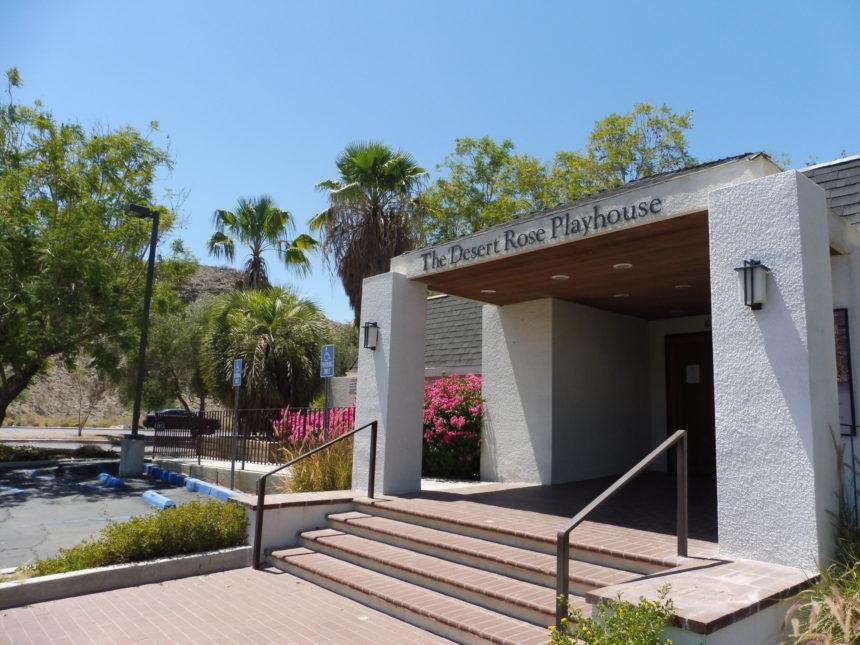 USA Palm Springs - Desert Rose Playhouse outside