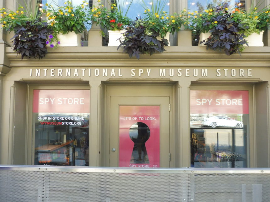 USA DC Spy store front