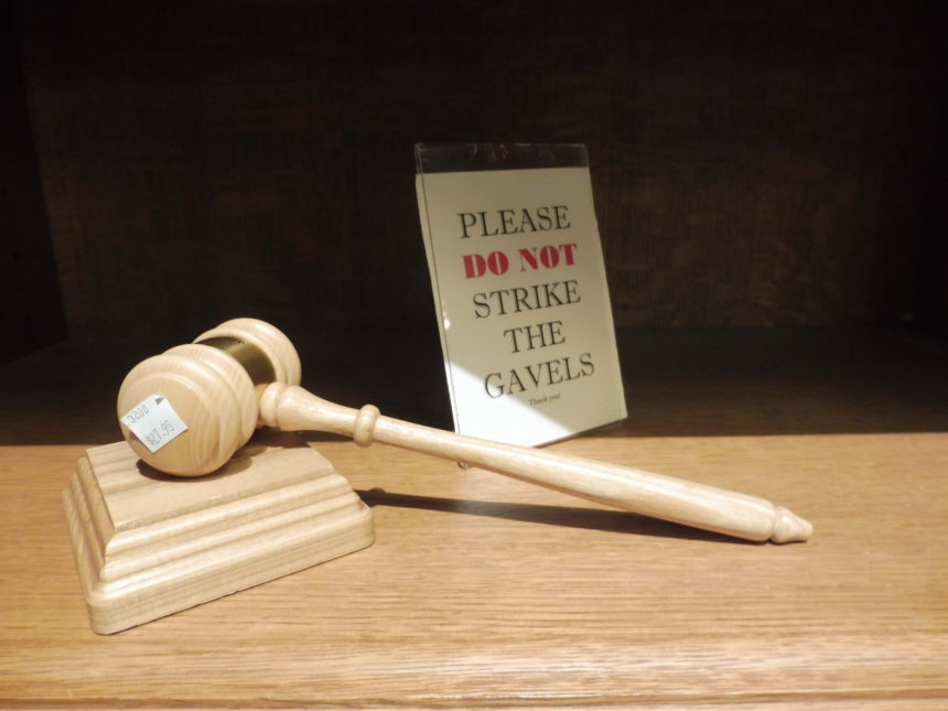 US DC Supreme Court gift shop - gavel