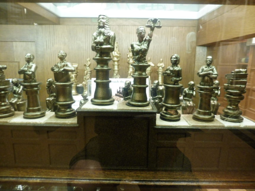 US DC Supreme Court gift shop - chess 2