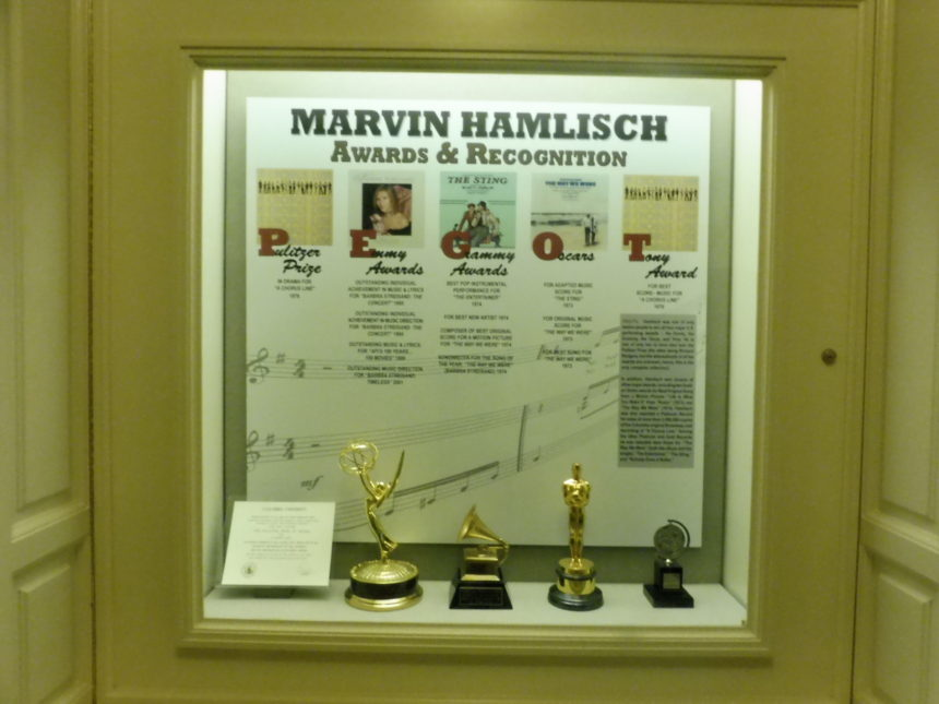 USA DC Library of Congress Marvin Hamlisch 2