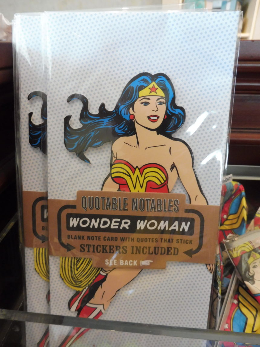 USA DC Library of Congress gift shop - Wonder Woman 8