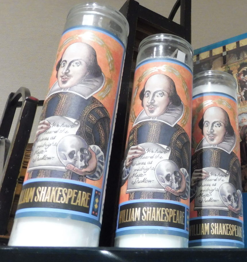 USA DC Kennedy Center gift shops - Shakespeare 8