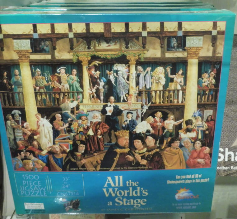 USA DC Kennedy Center gift shops - Shakespeare 20