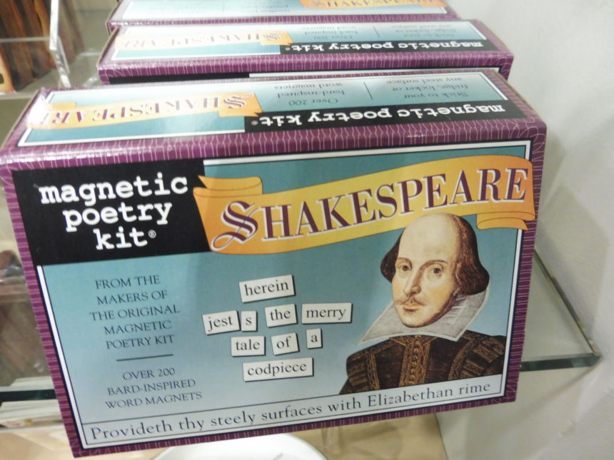 USA DC Kennedy Center gift shops - Shakespeare 21