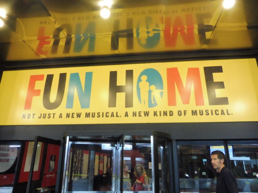 USA New York Fun Home sign