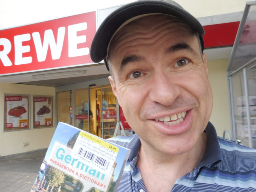 Germany Munich Shopping phrase book and me