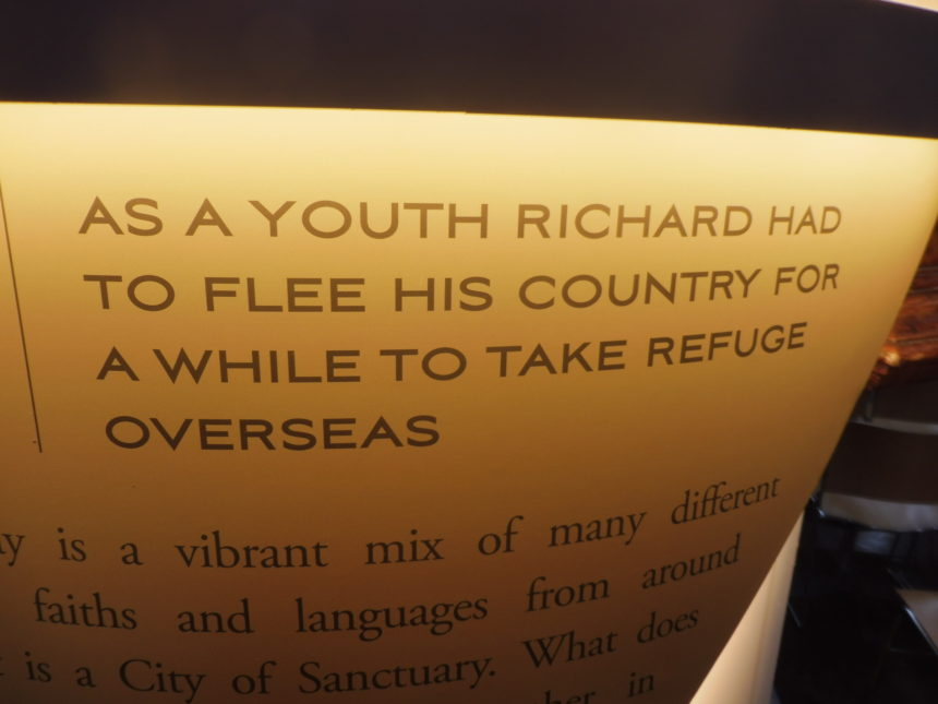 England Richard III Leicester Cathedral refugee 1