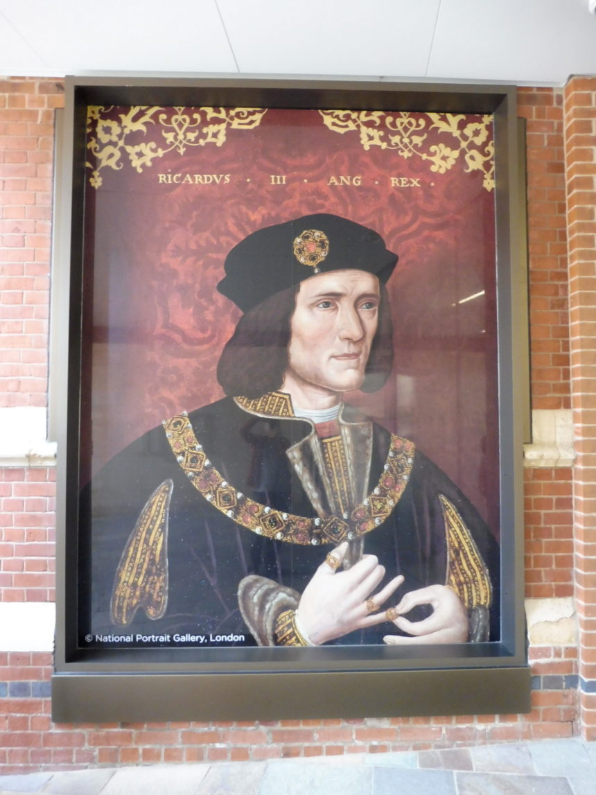 England Richard III painting print