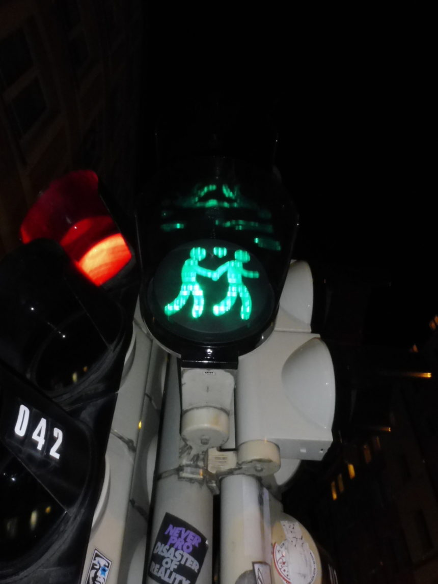 Germany Munich gay traffic lights