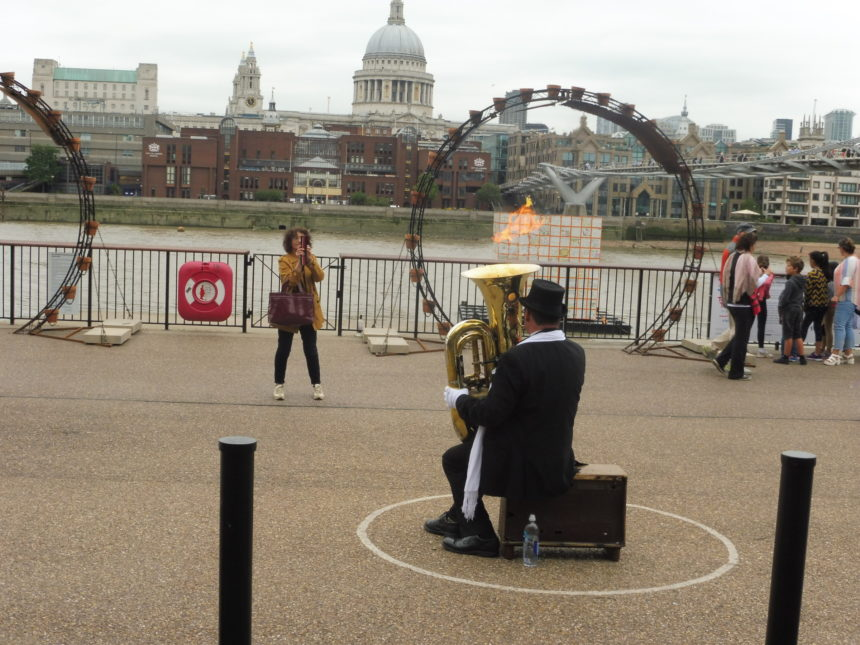England London Tuba opposite St Pauls 3