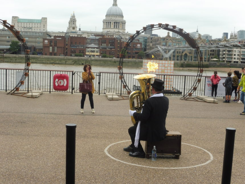 England London Tuba opposite St Pauls 4