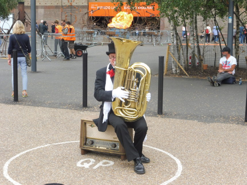 England London Tuba opposite St Pauls 6