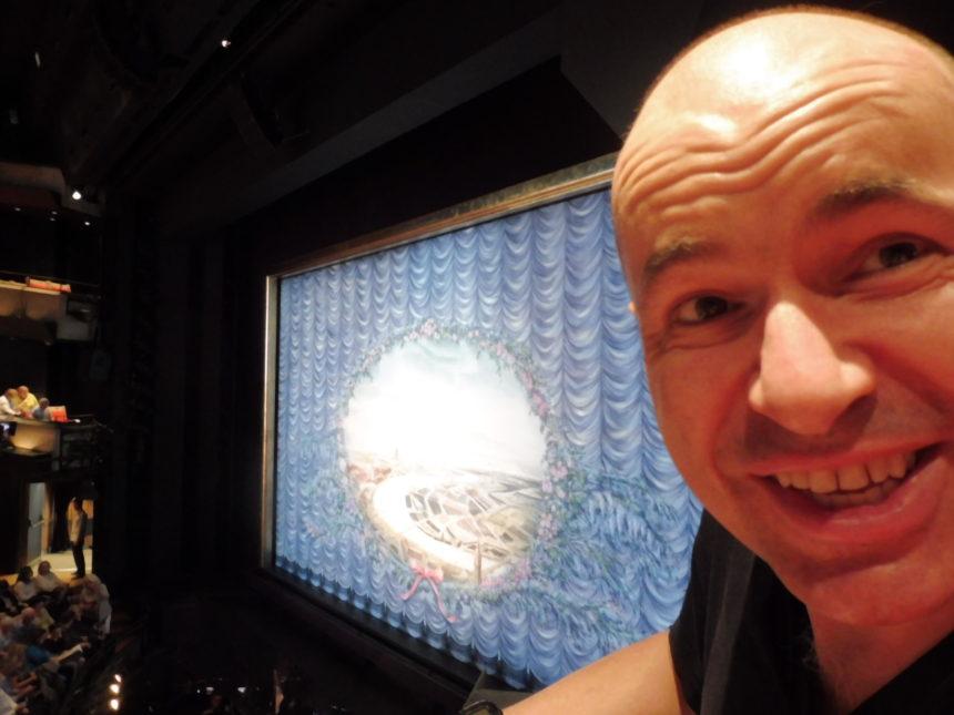 Australia - me inside Sydney Opera House 1