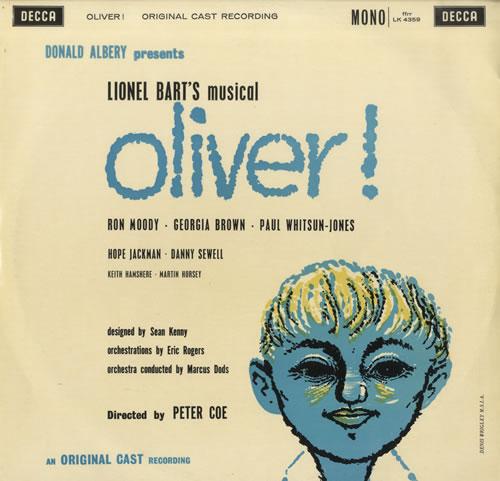 Oliver! cast recording