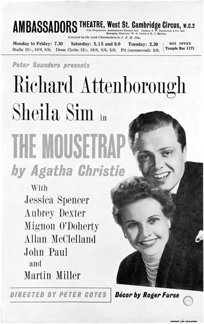 Richard Attenborough The Mousetrap